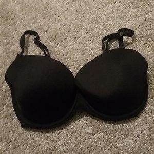 Pink Victoria's secret black bra